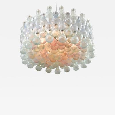 Seguso Viro 1950s Italian Seguso Murano Bubble chandelier