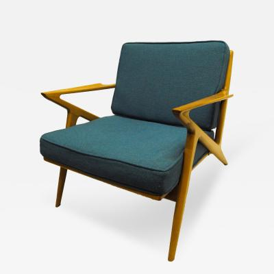 Selig Furniture Co 1950s Z Chair by Poul Jenson for Selig Furniture Co