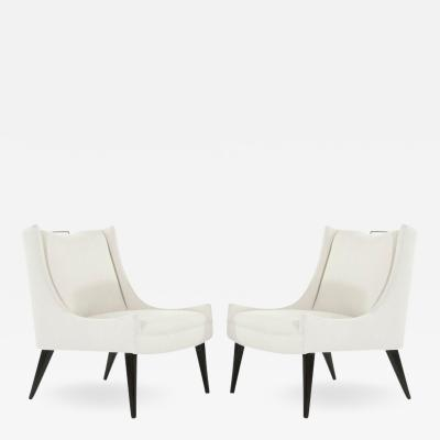 Selig Furniture Co Slipper Chairs by Selig 1950s