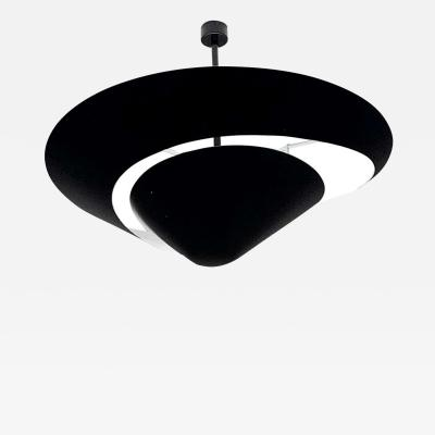 Serge Mouille USA Large Serge Mouille Snail Ceiling Lamp