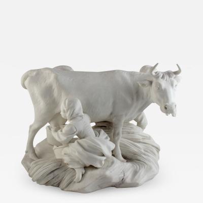Sevres Manufacture Nationale de S vres Biscuit group La vache