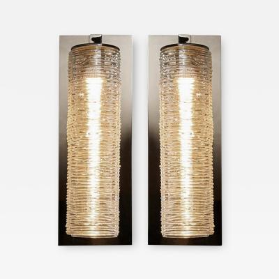 Shakuff Lighting Tamar Blown Glass Disque Sconces by Shakuff
