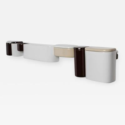Sicart Adjustable Ceramic Wall Units by Sicart Italy