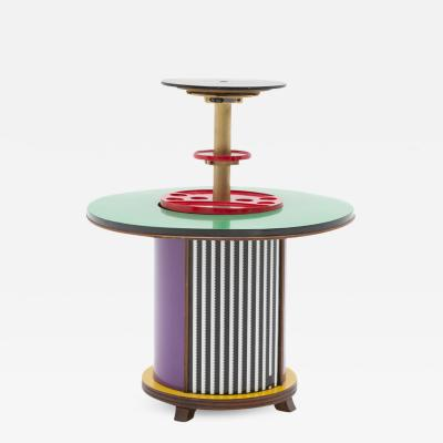 Singer Sons Bar Cabinet Designed by Doro Cundo and Edited by Singer Sons Italy 1980s