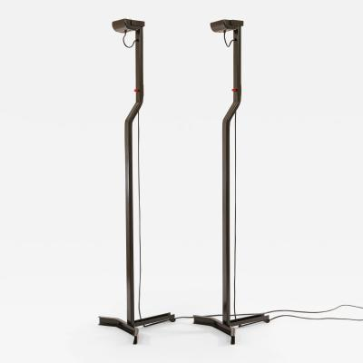 Sirrah Pair of Sirio floor lamps by Kazuhide Takahama for Sirrah 1970s