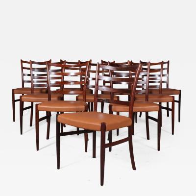 Skovby M belfabrik Skovby M belfabrik Rosewood dining chairs