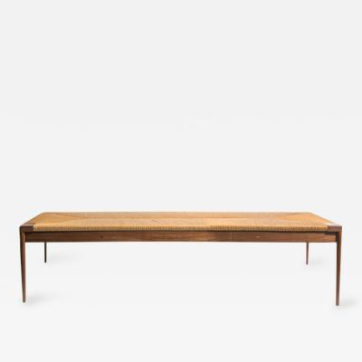 Smilow Furniture Rush and Walnut Daybed by Smilow Furniture