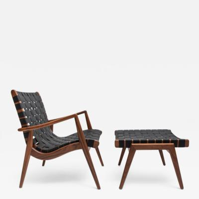 Smilow Furniture Woven Leather Strapped Arm Chair by Smilow Furniture