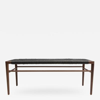 Smilow Furniture Woven Rush Bench RLB 44 RLB 60 Mel Smilow 1956