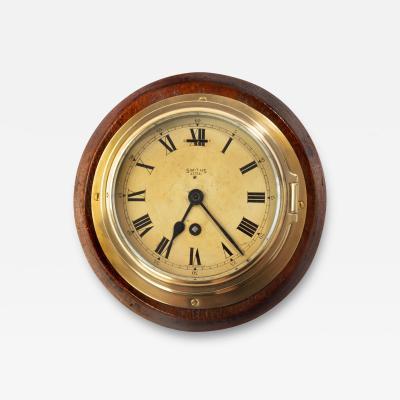 Smiths Astral A Smiths Astral brass bulkhead clock