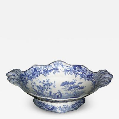 Spode Spode Blue and White Footed Dessert Compote