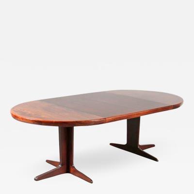 Spottrup Extendible Dining Table for VV M bler Sp ttrup Denmark 1960