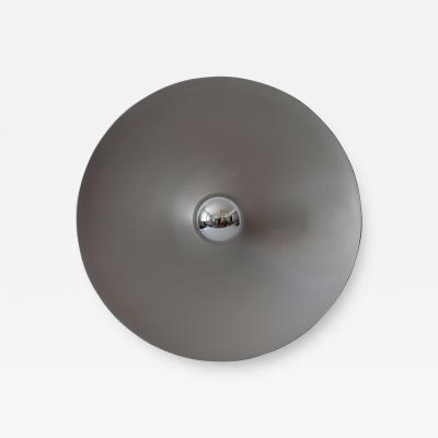 Staff Leuchten Huge Mid Century Modern Disc Sconce or Flush Mount by Staff Schwarz Germany