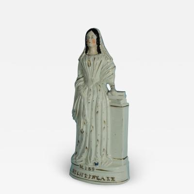 Staffordshire Staffordshire Pottery Miss Florence Nightingale Figure