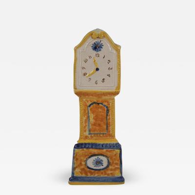 Staffordshire Staffordshire Prattware Long Case Clock Model