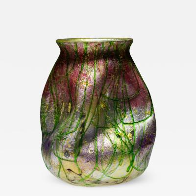 Stevens Williams Ltd A Highly Unusual Silveria Vase
