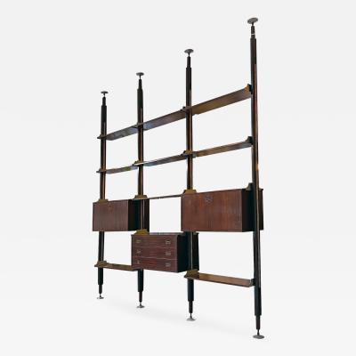 Stildomus Three bay bookcase by Stildomus 1960s