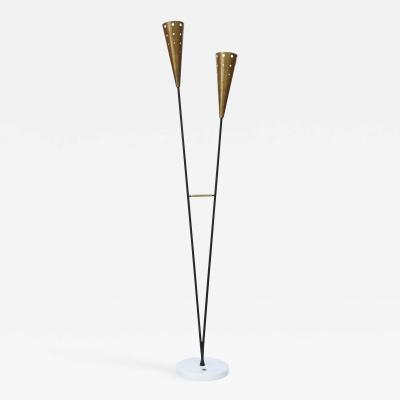 Stilnovo 1950s Italian floor lamp