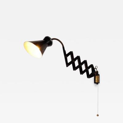 Stilnovo 1950s Scissor Wall Lamp by Stilnovo Italy