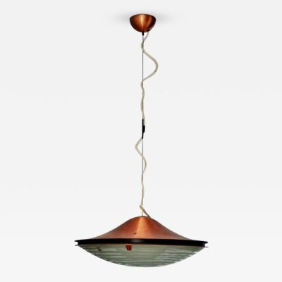 Stilnovo 1960s Rare Stilnovo Hanging Lamp Attributed to G Scolari