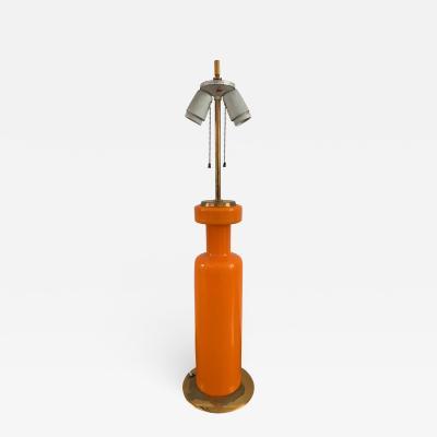 Stilnovo 1960s Stilnovo Table Lamp in Murano Glass
