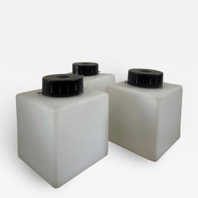 Stilnovo 3 Square Glass Flush Mount Wall Lights