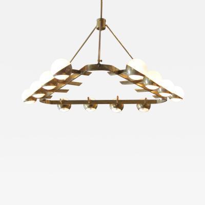 Stilnovo A Ceiling Lamp attributed to Stilnovo Italy 1970