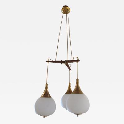 Stilnovo A Ceiling Lamp by Stilnovo Italy 1950
