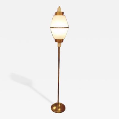 Stilnovo A Modernist Brass Floorlamp by Stilnovo