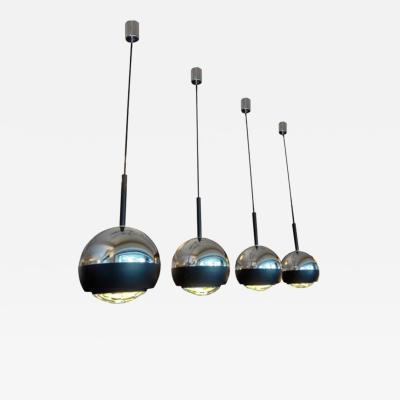 Stilnovo A Set of Four Hanging Lamps by Stilnovo