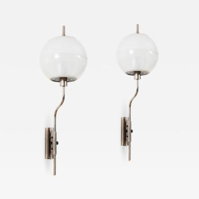Stilnovo A pair of large wall lights