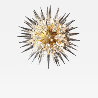 Stilnovo Exceptional Huge Atomic or Sputnik Chandelier Attributed to Stilnovo