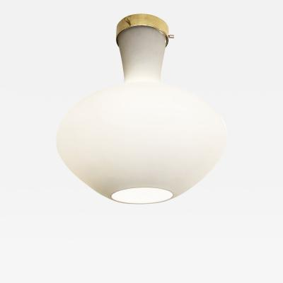 Stilnovo Frosted Glass Flush Mounts by Stilnovo 3 Available