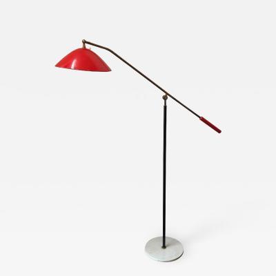 Stilnovo Italian Articulated Floor Lamp by Stilnovo