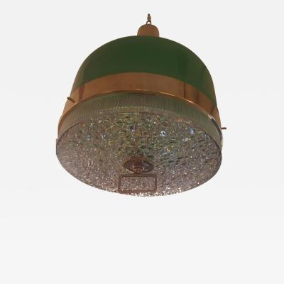 Stilnovo Italian Mid Century Lighting Fixture in the Manner of Stilnovo