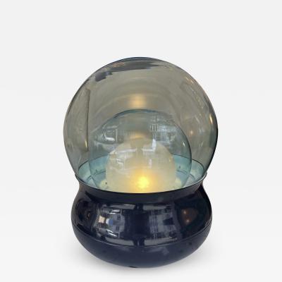 Stilnovo Lamp TL278 Murano Glass Metal by Giorgio Longoni for Stilnovo Italy 1970s