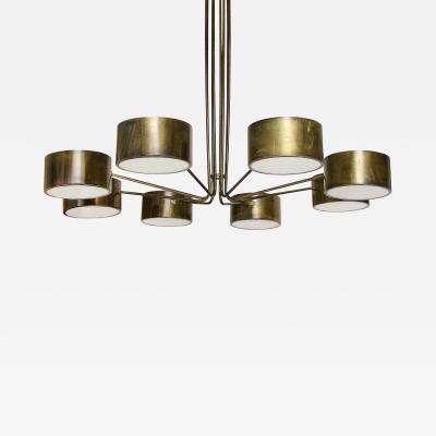 Stilnovo Large Eight Arm Chandelier