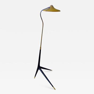 Stilnovo Mid Century Modern Floor Lamp in the Style of Franco Albini from the 1950s