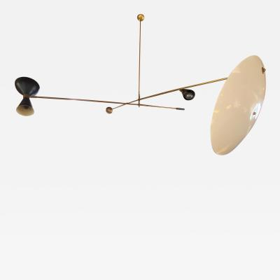 Stilnovo Mid Century Modern Mobile Hanging Chandelier Attributed to Stilnovo