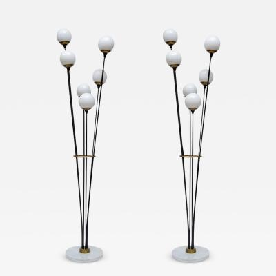 Stilnovo Pair of Alberello Floor Lamps by Stilnovo