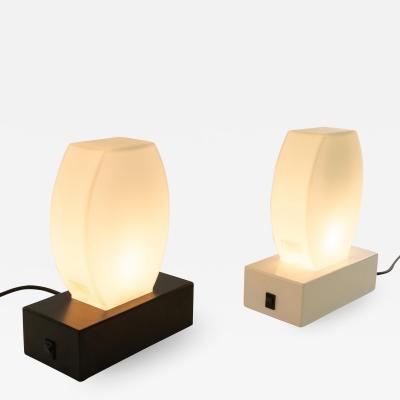 Stilnovo Pair of Dorane table lamps by Ettore Sottsass for Stilnovo 1970s