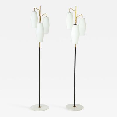 Stilnovo Pair of Floor Lamps Model 4052