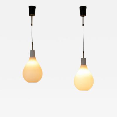Stilnovo Pair of Stilnovo Pendant Lamps