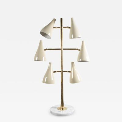 Stilnovo Rare 1950s lamp attributed to Stilnovo