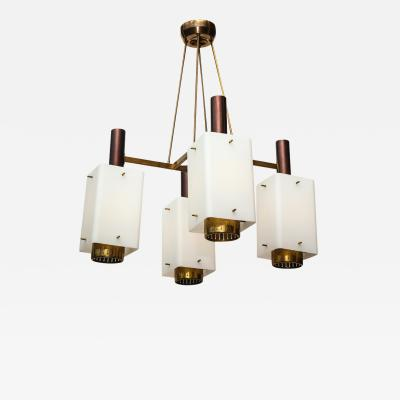 Stilnovo Rare 4 Light Ceiling Fixture by Stilnovo