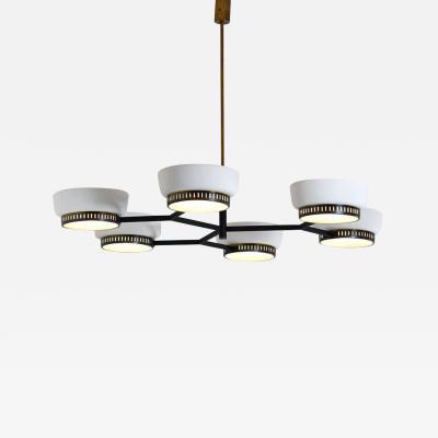 Stilnovo Rare Ceiling Light in Brass