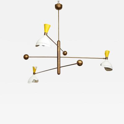 Stilnovo Rare Chandelier
