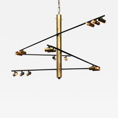 Stilnovo Rare Multilight Chandelier by Stilnovo