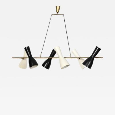 Stilnovo Rare hanging Light with six adjustable shades