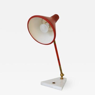Stilnovo Red Table Lamp Stilnovo